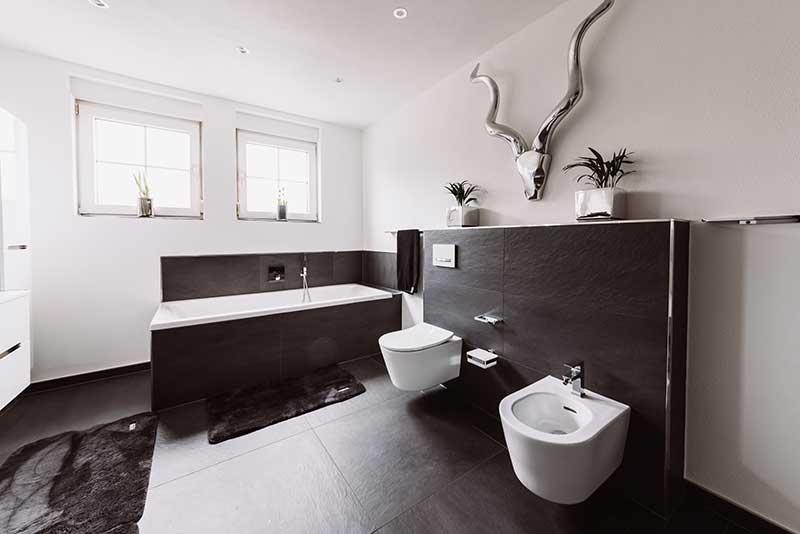 Badsanierung WC Dusche